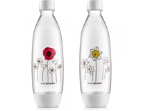Sodastream Fľaša Fuse Duo Pack s kvetinami 1x1 l