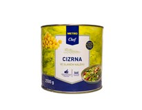 Metro Chef Cícer v slanom náleve 1x2650 ml
