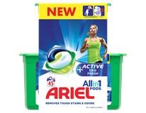Ariel Active gélové kapsuly 32+13 praní