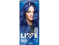 Schwarzkopf Live Ultra Brights 95 elektrizujúca modrá farba na vlasy 1x1 ks