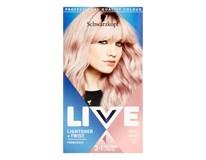 Schwarzkopf Live Lightener + Twist 101 chladná ružová farba na vlasy 1x1 ks