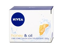 Nivea Honey & Oil tuhé mydlo 1x100 g