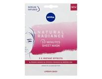 Nivea Urban Skin Natural Radiance textilná maska 1x1 ks