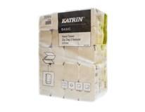 Papierové utierky skladané ZZ Basic 2-vrstvové 20x200 útržkov Katrin 1ks