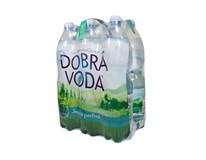 Dobrá Voda pramenitá minerálna voda jemne perlivá 6x1,5 l