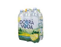 Dobrá Voda pramenitá voda citrón 6x1,5 l