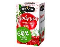 Bercoff Brusnica ovocný čaj 3x40 g