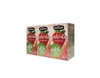 Bercoff Jahoda ovocný čaj 3x40 g