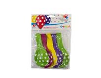 Balóny bodkové 30 cm 1x5 ks