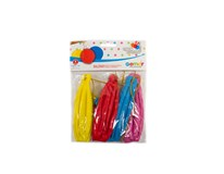 Balóny s gumičkou 45 cm 1x4 ks