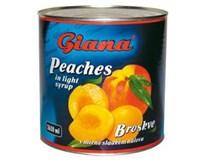 Giana Broskyne polené 1x2650 ml