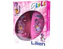 Kazeta Lilien Kids Girls sprchový gél+ šampón 1x1ks