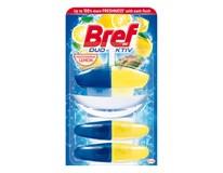 Bref Duo-Aktiv Lemon + 2 náhradné náplne 1x150 ml