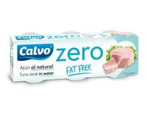 Calvo Zero Tuniak vo vlastnej šťave 3x65 g