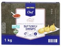 Metro Chef Butterfly Shrimp mraz. 1x1 kg
