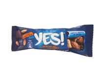 Tyčinka YES! mandle, morská soľ a horká čokoláda 1x35 g