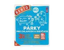 Berto Párky pre chlapcov a dievčatá chlad. 2x125 g
