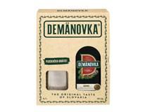 Demänovka Horká bylinný likér 38% 1x700 ml + ploskačka 1 ks darčekové balenie