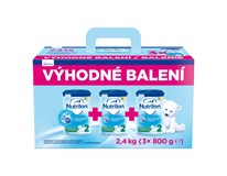 Nutricia Nutrilon 2 dojčenské mlieko 3x800 g výhodné balenie