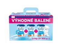 Nutricia Nutrilon 3 batoľacie mlieko 3x800 g výhodné balenie