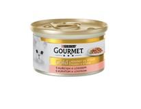 Purina Gourmet Gold Kúsky v šťave kura a losos 1x85 g