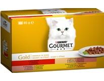 Purina Gourmet Gold Kúsky v šťave mix 4x85 g