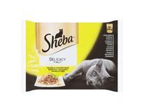Sheba Delicacy kapsičky 4x85 g
