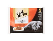Sheba Selection šťavnatý výber kapsičky 4x85 g