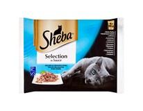 Sheba Selection rybací výber kapsičky 4x85 g