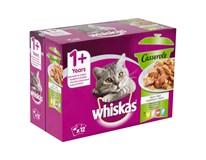 Whiskas Casserole mix výber v želé kapsičky 12x85 g