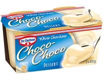 Dr.Oetker Choco-Choco White dezert chlad. 2x100 g