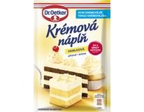 Dr. Oetker Krémová náplň vanilková 1x65 g