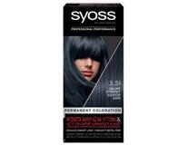 Syoss 3-51 Uhľovo strieborná farba na vlasy 1x1 ks