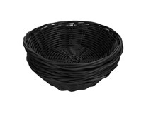 Košíky plastové 18 cm čierne ARO 3 ks