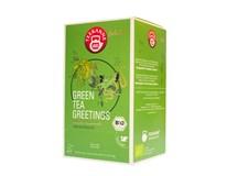 Teekanne Green Tea / zelený čaj BIO luxury cups 1x40 g