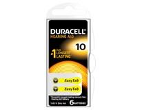Batérie Hearing Aid 10 Duracell 6ks