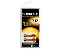Batérie Hearing Aid 312 Duracell 6ks