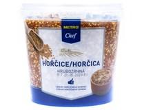 Metro Chef Horčica hrubozrnná 1x950 g