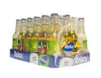 Relax nektár viečko Jablko a Aloe Vera 24x250 ml SKLO