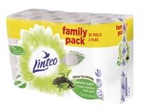 Linteo Green Tea Aroma toaletný papier 3-vrstvový 15m biely 1x30 ks