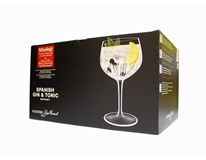 Pohár Gin & Tonic 800 ml Luigi Bormioli Mixology 6 ks