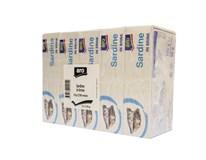 ARO Sardinky vo vlastnej šťave 5x125 g