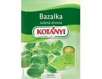 Kotányi Bazalka drvená sušená 5x9 g