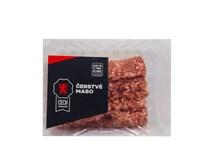 Bravčové mäso mleté max 15% tuku chlad. váž. cca 2 kg