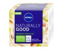 Nivea Naturally Good nočný krém 1x50 ml