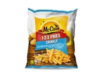 McCain Hranolky 123 Fries Crinkle mraz. 1x750 g