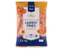 Metro Chef Mrkvové hranolky mraz. 1x2,5 kg