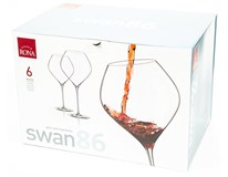 Pohár Swan Burgundy 860 ml Rona 6 ks