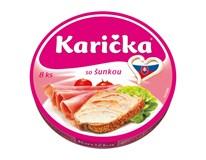 Karička Tavený syr so šunkou tuk v sušine 50% 4x125 g