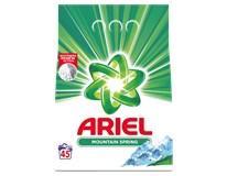 Ariel Mountain Spring prací prášok 45 praní 1x3,375 kg